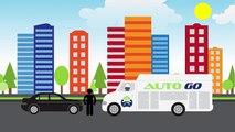 Auto Go Mobile Animation by Pixels Logo Design-SD