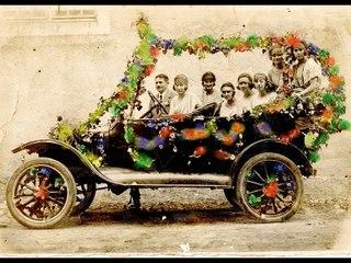 1920 Carnavalet cavalcades à Saint Pierre d 'Aurillac