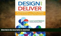 READ Design and Deliver: Planning and Teaching Using Universal Design for Learning On Book