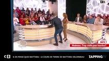 Il en pense quoi Matthieu ? : Matthieu Delormeau donne un cours de twerk en direct (Vidéo)