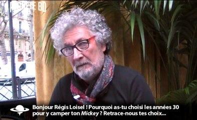 Régis Loisel en interview pour planetebd.com