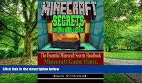 Best Price Minecraft: The Essential Minecraft Secrets Handbook: Minecraft Game Hints, Tips,