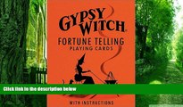 Pre Order Gypsy Witch Fortune Telling Playing Cards Not Available On CD