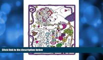 Pre Order Zen Doodle Coloring Book_Nature Girls 2 (Volume 2) Judy Brown On CD