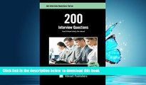 BEST PDF  200 Interview Questions You ll Most Likely Be Asked (Job Interview Questions Series) FOR