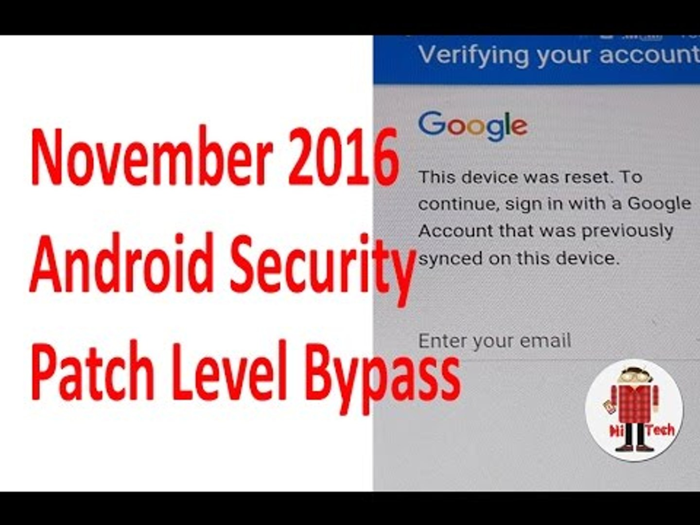 Bypass Remove (FRP) Samsung Galaxy with Anroid 6 0 1