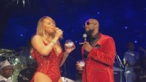 Mariah Carey Brings R. Kelly on Stage for '12 Days of Christmas' Concert