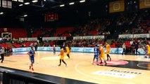 Basket Ostende Mons Coupe de Belgique aller