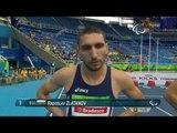 Athletics | Men's 100m - T13 Final  | Rio 2016 Paralympic Games