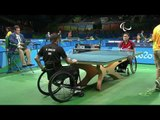 Table Tennis | GER vs KOR | Men's Singles - Class 1 | Rio 2016 Paralympic Games