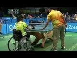Table Tennis   ITA x THA   Women's Singles Class 1/2   Rio 2016 Paralympic games
