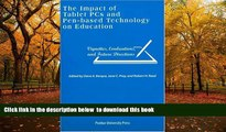 BEST PDF  Impact of Tablet PCs and Pen-based Technology on Education: Vignettes, Evaluations, and