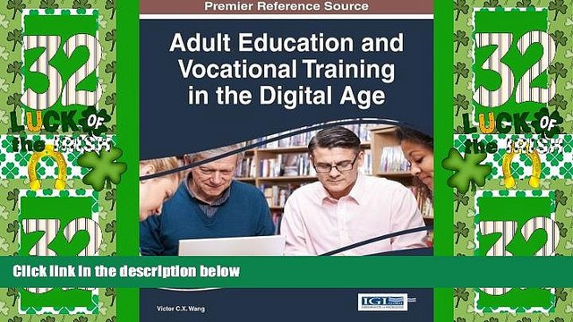 Price Adult Education and Vocational Training in the Digital Age (Advances in Higher Education and