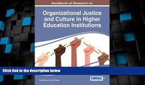 Price Handbook of Research on Organizational Justice and Culture in Higher Education Institutions