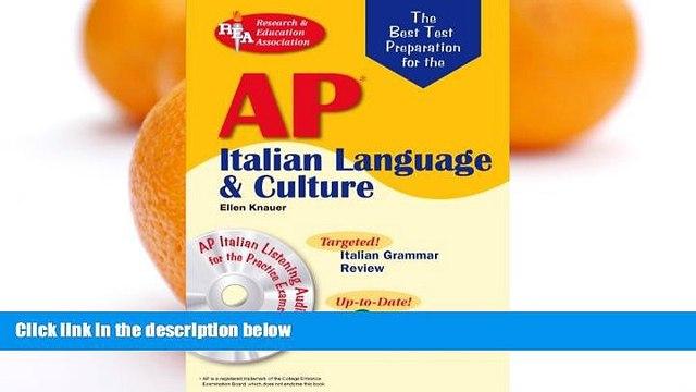 Buy Ellen Knauer AP Italian Language and Culture w/ Audio CDs (Advanced Placement (AP) Test