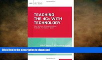 Pre Order Teaching the 4Cs with Technology: How do I use 21st century tools to teach 21st century