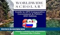 Buy Worldwide Scholar Worldwide Scholar Guide to AP Comparative Government   Politics: 2015