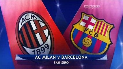 AC Milan v Barcelona