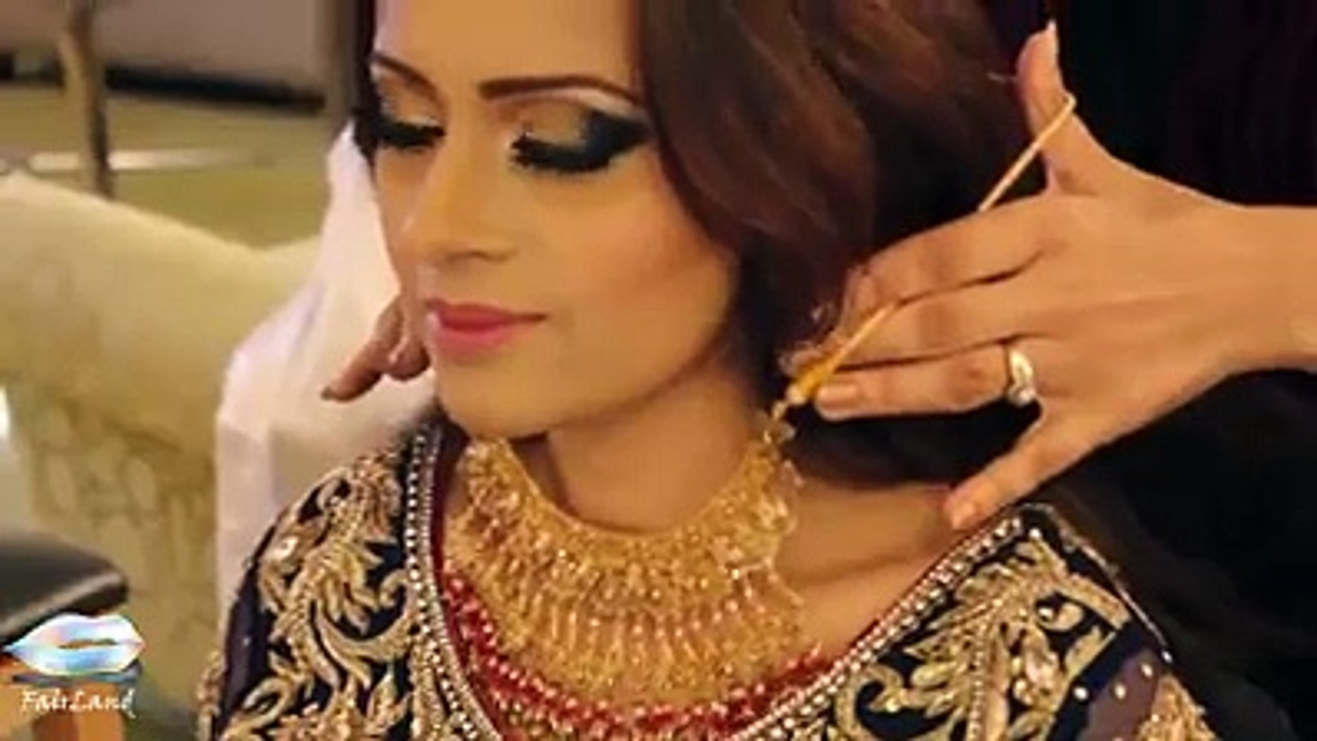 best tutorial for bridal makeup and hairstyle must watch