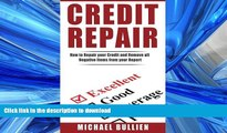 Hardcover Credit Repair: How to Repair Your Credit and Remove all Negative Items from Your Credit