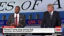 Ben Carson and Donald Trump funny moment
