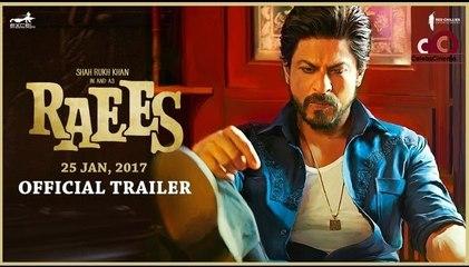 Shah Rukh Khan In & As Raees   Trailer   Releasing 25 January