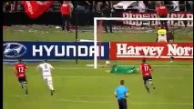 Besart Berisha Goal - Western Sydney Wanderers vs Melbourne Victory 0-1  A-League  10-12-2016