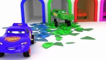 Cars 2 Lightning McQueen Learn Colors with 3D Surprise Eggs Toys Disney Pixar Cars for kids