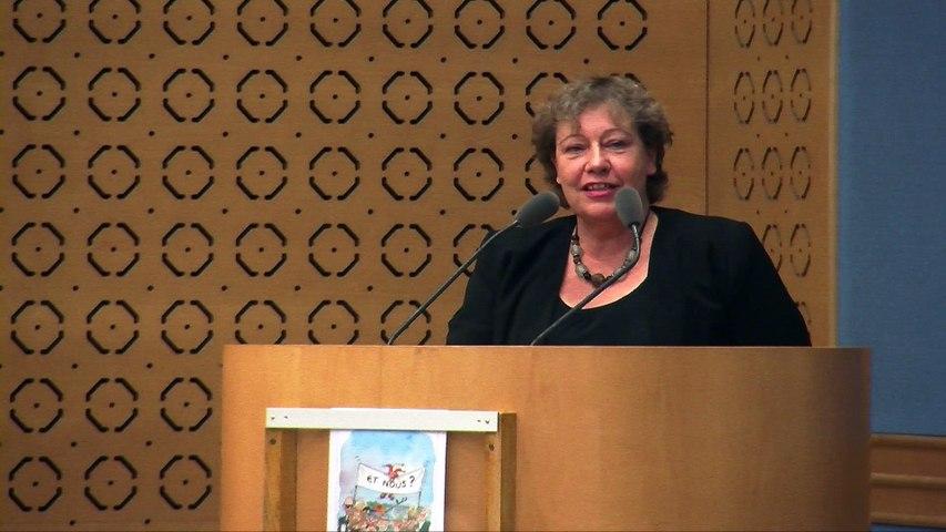 Colloque droits culturels: conclusion par Marie-Christine Blandin