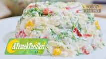 Yoğurtlu Arpa Şehriye Salatası Nasıl Yapılır? | Yoğurtlu Arpa Şehriye Salatası Tarifi