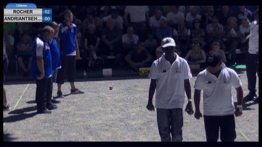 International de la Ville d'Espalion 2016 : Sortie de poules ROCHER vs MADAGASCAR