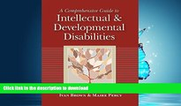 Pre Order A Comprehensive Guide to Intellectual and Developmental Disabilities