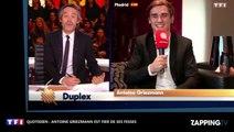 Quotidien : Antoine Griezmann fier de ses fesses, ses confidences coquines (déo)