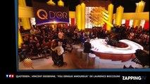 """Quotiden : Vincent Dedienne, """"fou dingue amoureux de Laurence Boccolini"""" (vidéo)"""