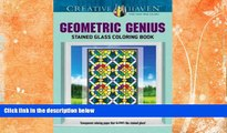 Price Creative Haven Geometric Genius Stained Glass Coloring Book (Adult Coloring) Henry Shaw For