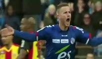 RC Strasbourg 3-1 Racing Club de Lens - Le Résumé Du Match (10.12.2016) - Ligue 2