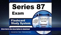Hardcover Series 87 Exam Flashcard Study System: Series 87 Test Practice Questions   Review for