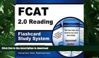 Hardcover FCAT 2.0 Reading Flashcard Study System: FCAT Test Practice Questions   Exam Review for