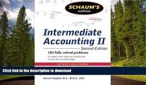 Epub Schaum s Outline of Intermediate Accounting II, 2ed (Schaum s Outlines) Kindle eBooks