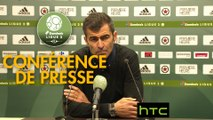 Conférence de presse Red Star  FC - Valenciennes FC (2-2) : Rui ALMEIDA (RED) - Faruk HADZIBEGIC (VAFC) - 2016/2017