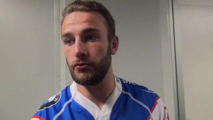 Rugby Fédérale 1 - Mathieu Lorée après USB - Limoges