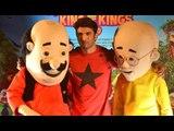 Motu Patlu King of Kings Movie Trailer Launch   Sushant Singh Rajput