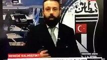 Beşiktaş Vodafone Arena Patlama Anı - BJKTV Patlama Anı