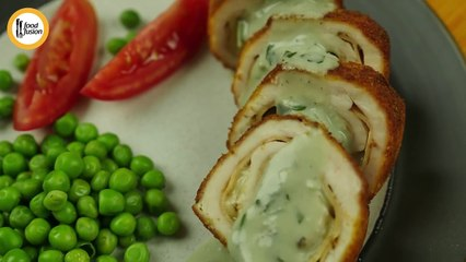 Chicken Cordon Bleu with Sauce Recipe