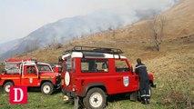 La montagne en feu dans les Hautes-Pyrénées