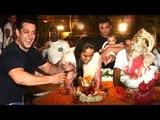 Salman Khan Ganpati Visarjan 2016 Full Video HD - Sohail & Arbaaz Khan,Arpita Khan,Helen