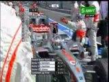 Alonso y hamilton pole gp hungria 2007 f1