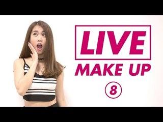 [Live Makeup 08] - Makeup Ngẫu Hứng Với Son Màu Đỏ Cam Đất - Ngọc Thảo | Lady9