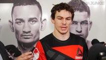 Olivier Aubin-Mercier hopes UFC 206 win was a performance to make mentor Georges St-Pierre proud