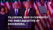 Trump to pick ExxonMobil chief Rex Tillerson as secretary of state